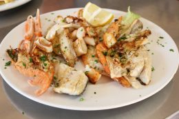 Grigliata di pesce | Ristorante Olimpo - Brescia