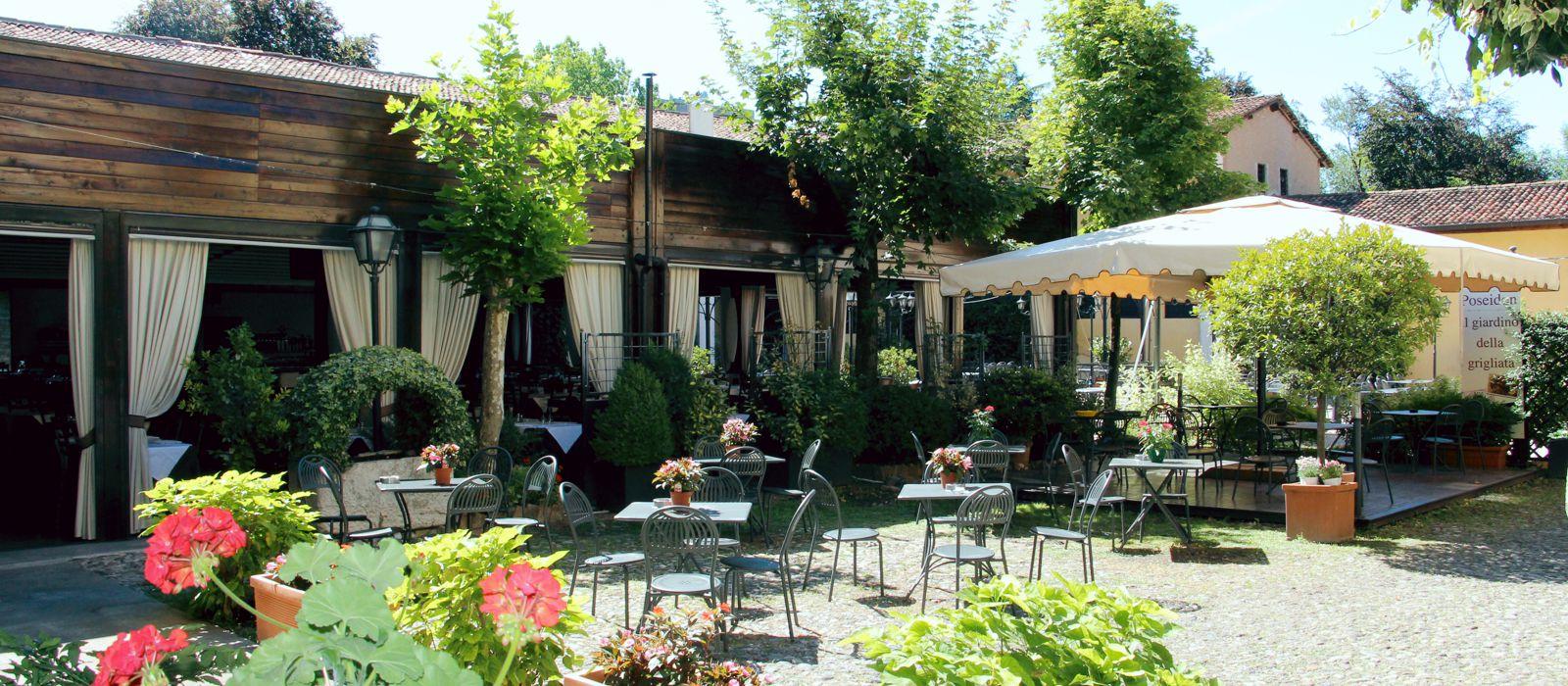Giardino | Ristorante Olimpo - Brescia