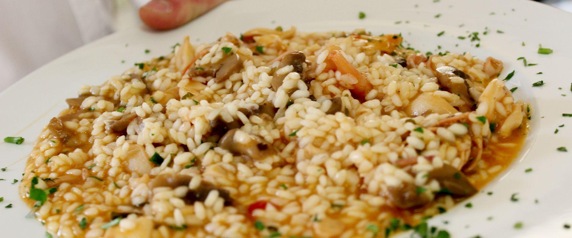 Risotto al pesce | Ristorante Olimpo - Brescia