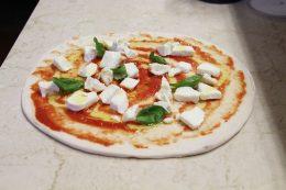 Pizza Bufalina del Ristorante Olimpo di Brescia