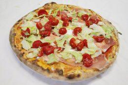 Pizza Burrata del Ristorante Olimpo di Brescia