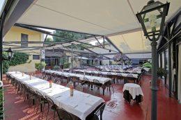 Veranda | Ristorante Olimpo Brescia